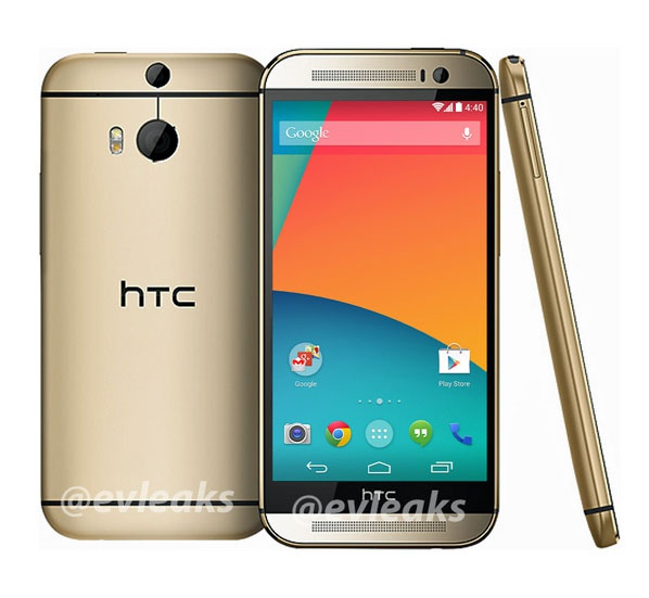 Mockup: HTC One (M8) als Google Play-editie