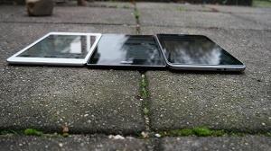 Asus Zenpad S8.0 t.o.v. Acer Iconia W4-820 & Ipad mini 2