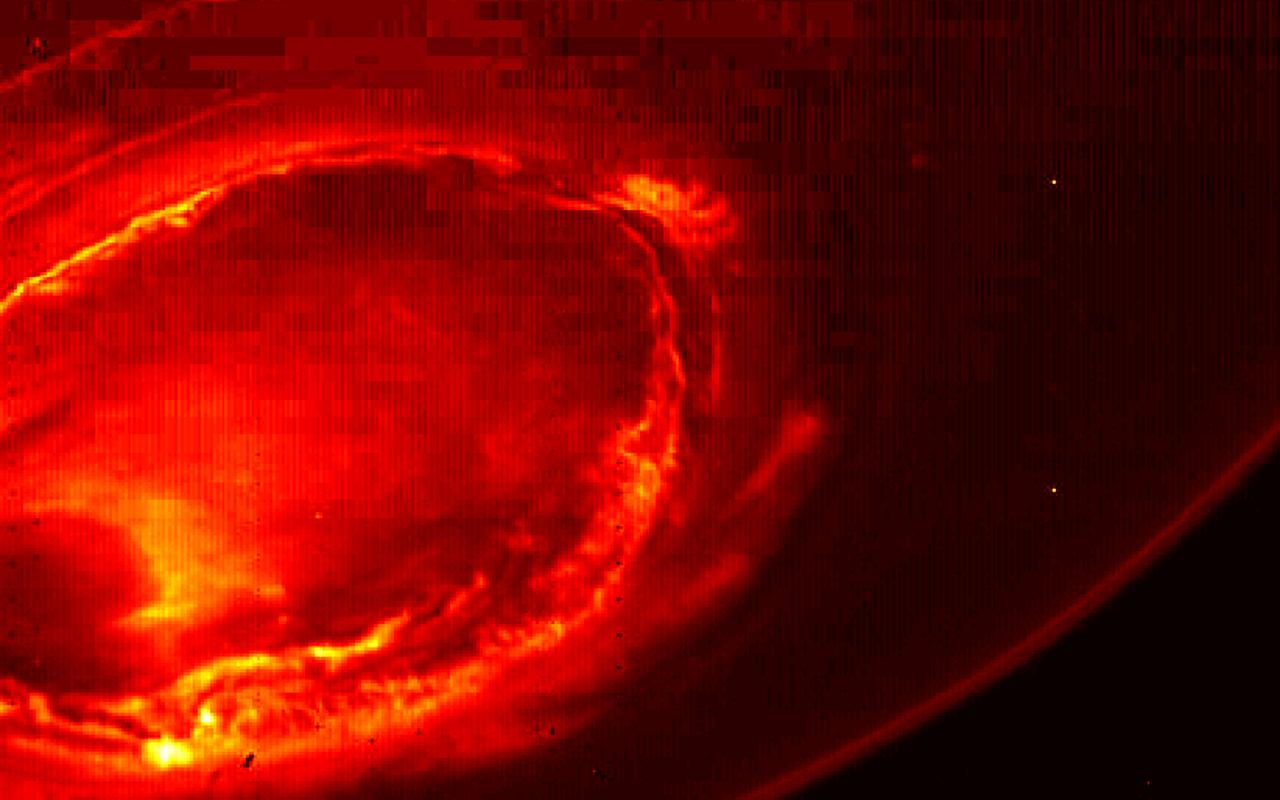Foto's van Jupiter door Juno
