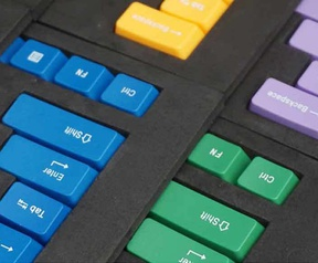Verschillende keycaps