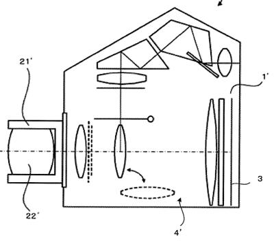 Olympus conversielens patent
