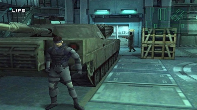 Screenshot uit Metal Gear Solid (PS1)