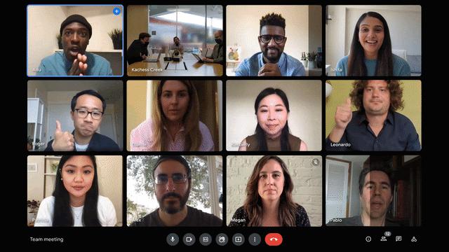 Mode Cahaya Rendah di Google Meet