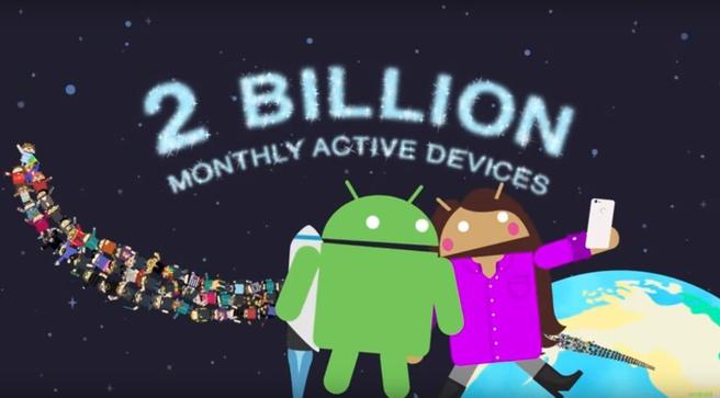 Android 2 miljard