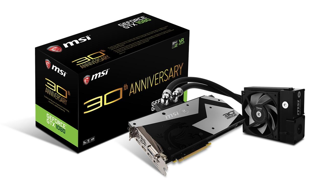 MSI GTX 1080 30th Anniversary