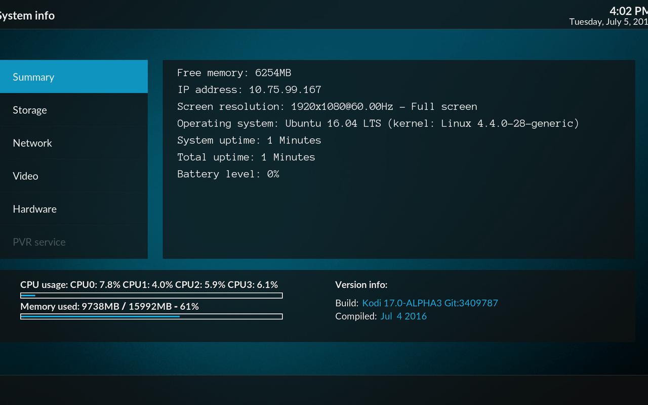 Kodi 17.0 'Krypton'