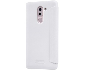 Nillkin New Sparkle S-View Book Case voor Huawei Honor 6X - Wit Wit