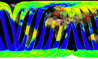 Eerste data van de SMOS satelliet