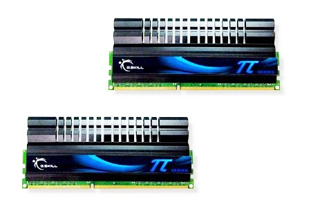 G.skill 2200MHz CL7 Pi-serie