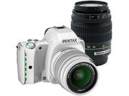 Goedkoopste Pentax K-S1 Standard + DA 18-55mm f/3,5-5,6 AL + DA 50-200mm f/4-5.6 ED Wit