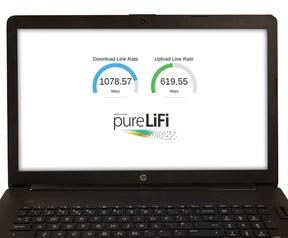 gigabit optical front-end van pureLiFi
