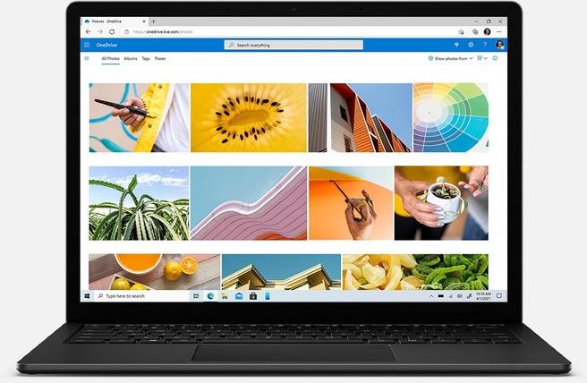 "Microsoft Surface Laptop 4 i7-1185G7 (13.5"", 32GB, 1TB SSD, Qwerty) Zwart voor bedrijven"