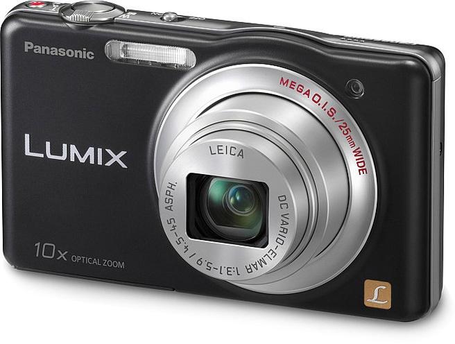 Panasonic Lumix DMC-SZ1 (black, silver, blue, red, violet) Zwart