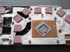 Stock koeler Nvidia GeForce 9600 GT.