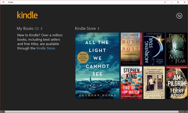 Amazon Kindle-app