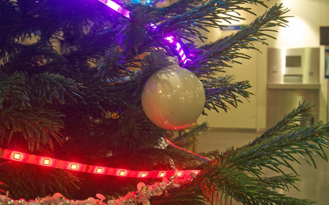 Twitter-Kerstboom