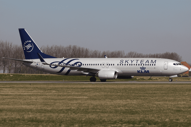Vliegtuig Boeing 737-900
