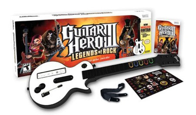 Guitar Hero III: Legends of Rock voor Wii