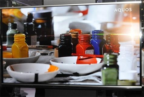 Sharp Moth-Eye filter Aquos tv