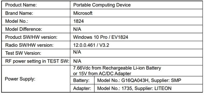 Nieuw Surface-apparaat bij FCC