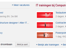 IT banen nog steeds verrot en ex BTW CompuTrain