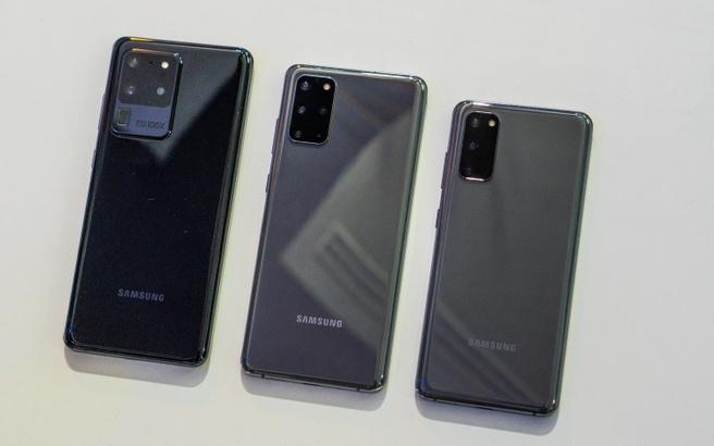 Samsung Galaxy S20 Ultra, S20+ en S20