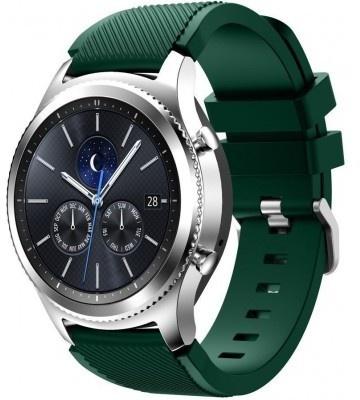 qMust Sport armband voor Samsung Gear S3 Classic / Frontier - donker groen