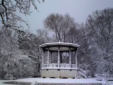 Gazebo in Vondelpark