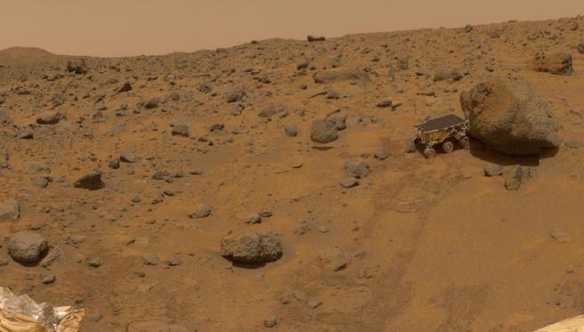Oppervlak van Mars