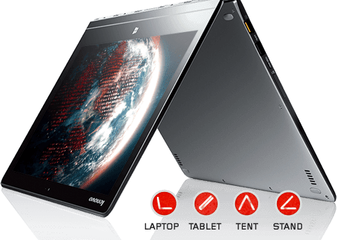 Lenovo Yoga 3 Pro Silver