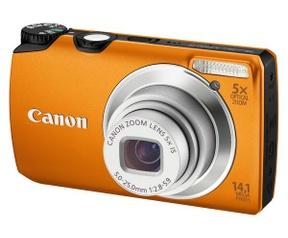 Canon Powershot A3200 IS Oranje
