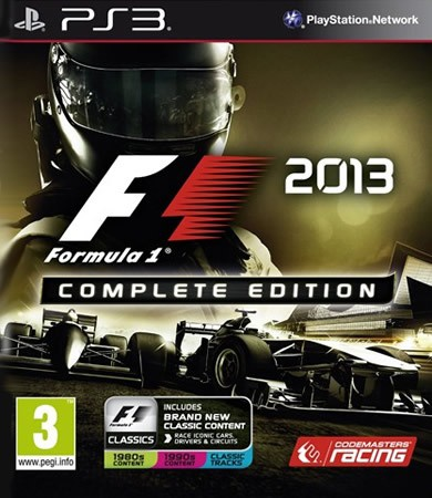 F1 2013 Complete Edition, PlayStation 3