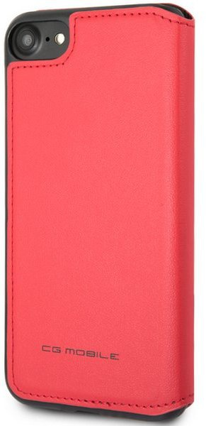 "Ferrari Offtrack PU Leren Case Apple iPhone 6/6s/7/8 (4.7"") Rood  Rood"