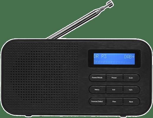 Udestående Denver DAB-42 Draagbaar Digitaal Zwart radio - Kenmerken - Tweakers DK02