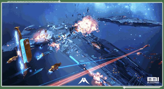 Gearbox kondigt ruimte-rts Homeworld 3 aan met een