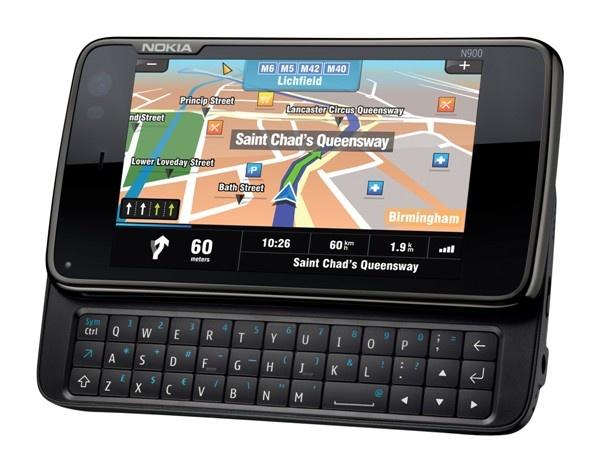 Nokia N900 met Sygic