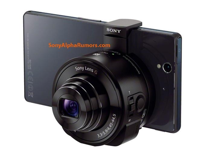 Sony lens addon voor smartphone