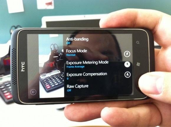 HTC WP7-toestel met 12MP