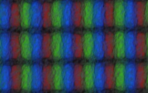 Scherm Galaxy Pocket van dichtbij