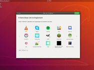 Ubuntu 18.04 Welkomstscherm