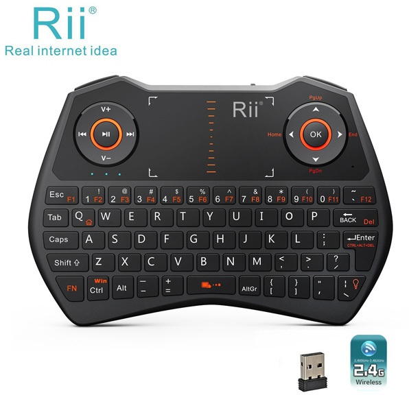Rii Mini Wireless Keyboard i28