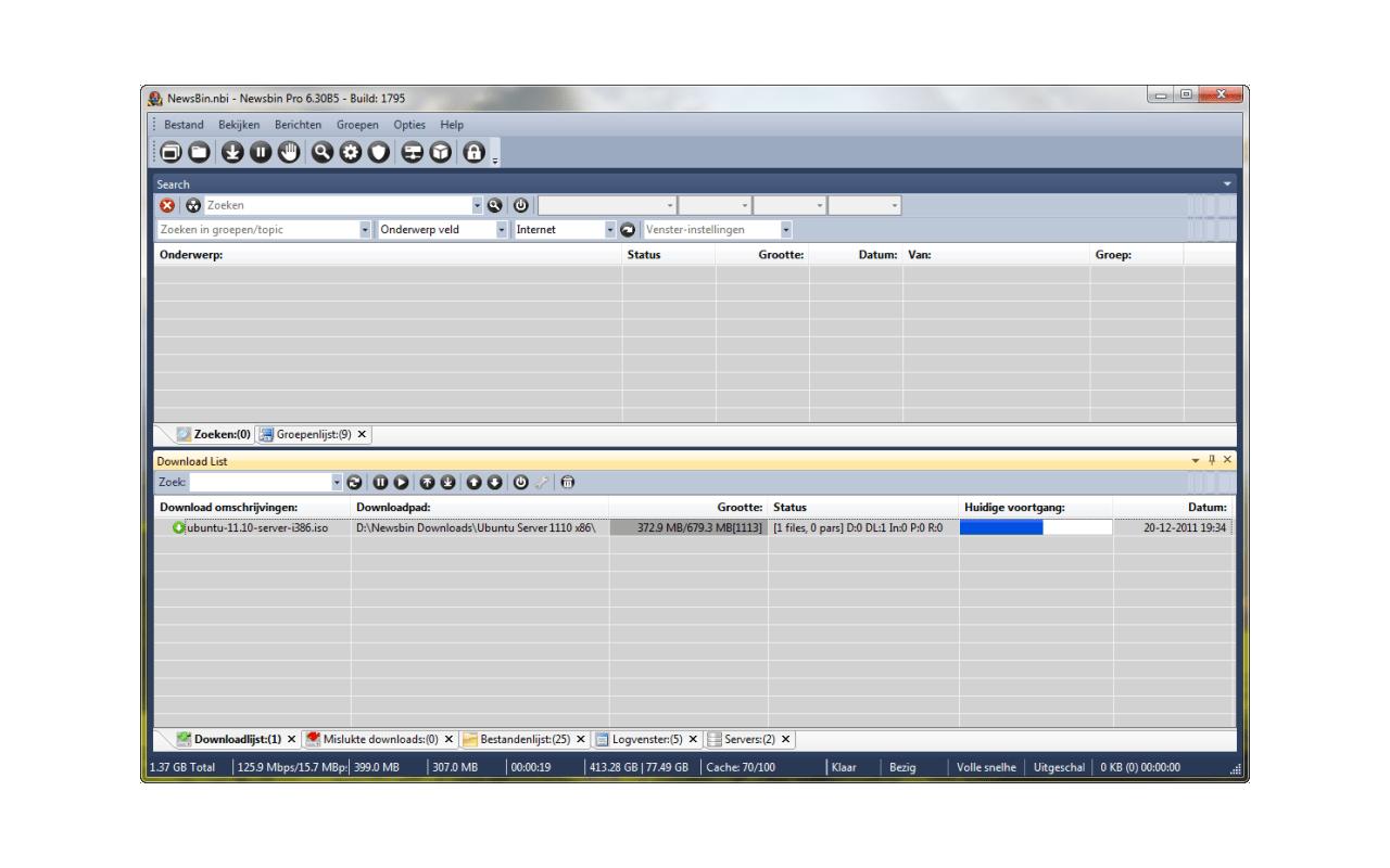NewsBin Pro - Specificaties - Tweakers