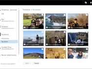 Outlook.com Google Drive Facebook bijlagen zoeken