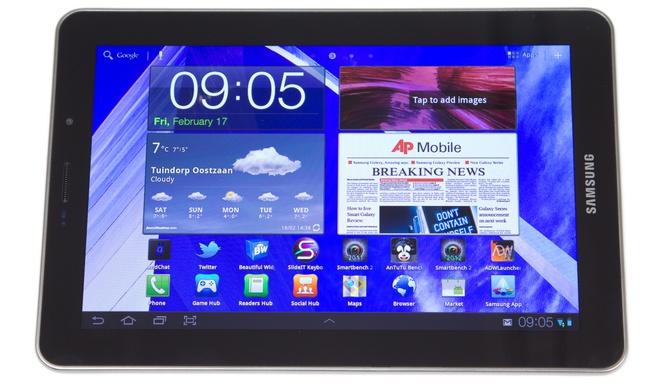 Samsung Galaxy Tab 7.7 uit 2011