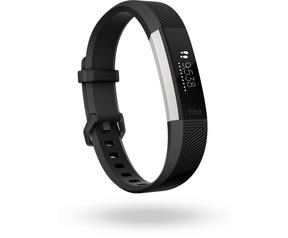 Fitbit Alta HR Small Aluminium (Zwart)