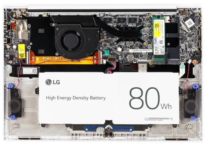 LG Gram 16 (16Z90P) - Binnenkant