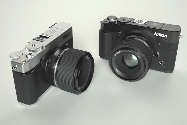 Nikon spiegelloze camera 2018 CONCEPT