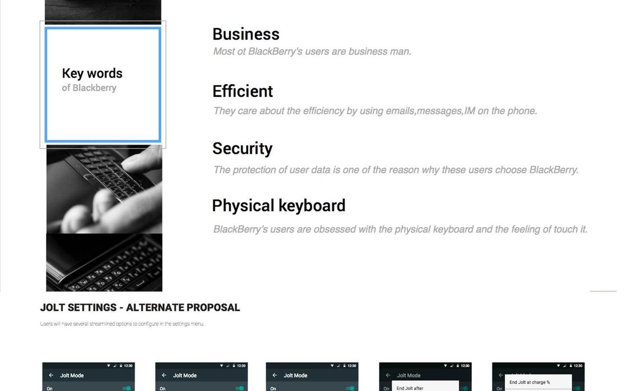 BlackBerry Juno-slide