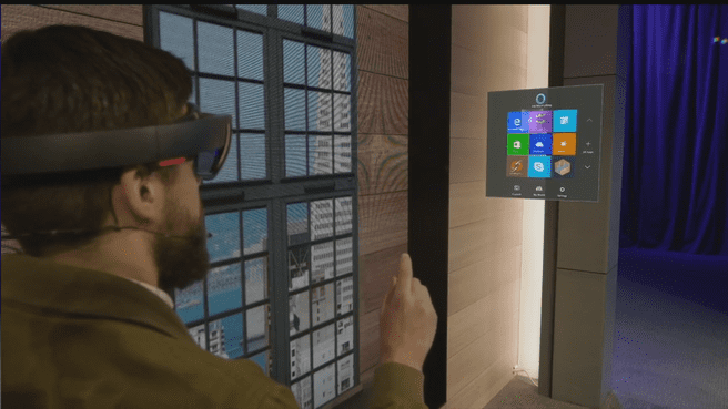 Microsoft Visual HoloLens Build 2015