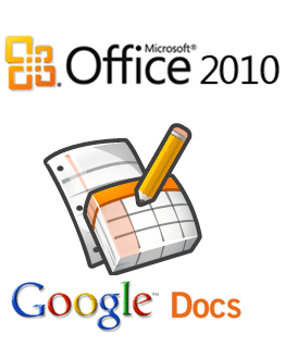 Office 2010 / Google Docs
